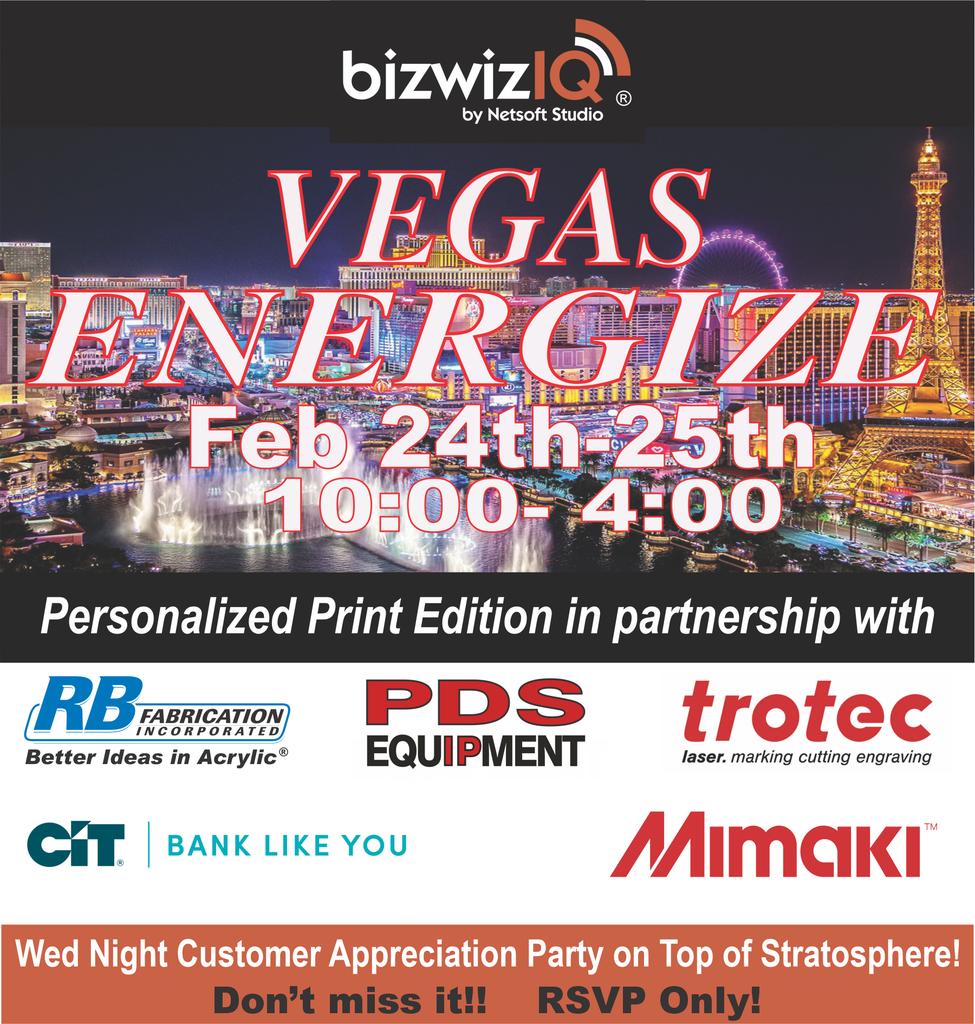 Energize Vegas
